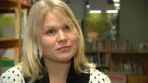 Jenny Olsson-Korsu, bibliotekschef i Lovisa