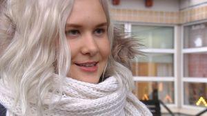 Minttu Koskenlaita tycker att promenadkampanjen är en fin idé