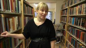 Maria Kronqvist-Berg, t.f. bibliotekschef i Malax