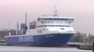 Förbindelsebåten mellan Hangö och Paldiski.