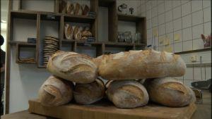 Nygräddat och närproducerat bröd har blivit en framgång.