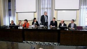 Grundlagsutskottets uttalande om social- och hälsovårdsreformen den 19 februari 2015.