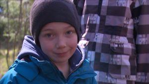 Jakob Friström tyckte om att ha lektioner utomhus