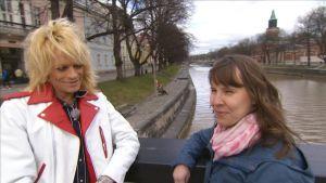Maria Nylund intervjuar Michael Monroe valborg 2015