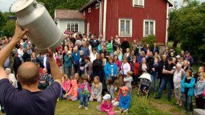 Auktion på Föglö på Åland