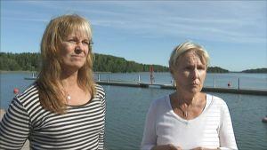 Petra Öhman och Cecilia Björkstam