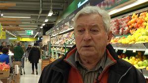 Jan Klemets i mataffären
