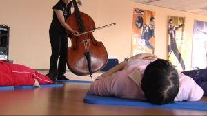 Patienter som får musikterapi