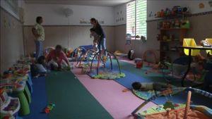 Ett skyddshem för barn i Caracas