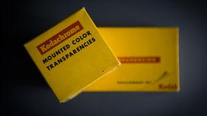 Kodaks filmförpackningar.