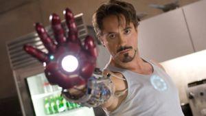 Iron Man Tony Stark (Robert Downey jr.)