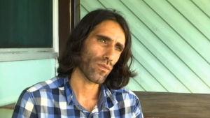Behrouz Boochani på flyktingön Manus