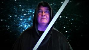 Hanna Tuura eläytyneenä Star Wars-elokuviin