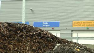 Sopptip för bioavfall.