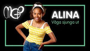 Alina: Våga sjunga ut
