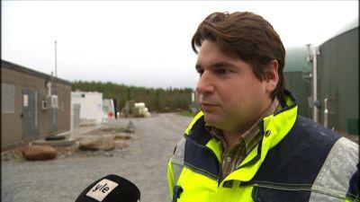 Driftschef Janne Käld på Jeppo Biogas.