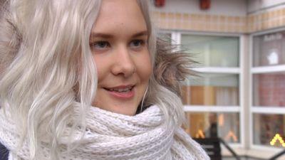 Minttu Koskenlaita tycker att promenadkampanjen är en fin idé 6dfdb439b9271