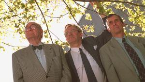 Naturväktarna årgång 1996. Harry Krogerus, Björn Federley och Bo Ekstam