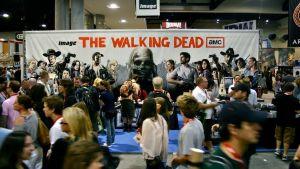 Fans på en Walking dead-konferens.