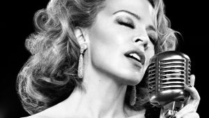 Pressbild på Kylie Minogue