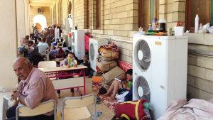 Kristna flyktingar i Erbil