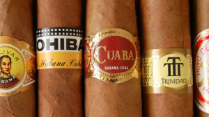 Kuubalaisia sikareita.