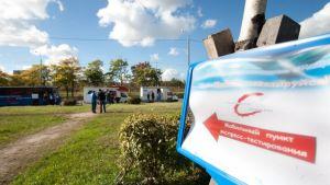 Humanitär Aktion försöker öka medvetenheten om hiv i Ryssland.