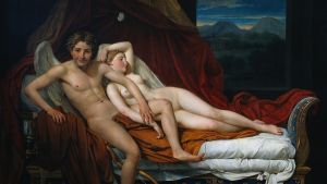 Jacques-Louis David: Cupidon et Psyché