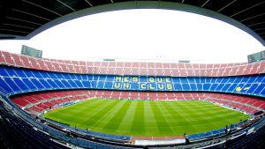 Camp Nou, Barcelonan kotikenttä
