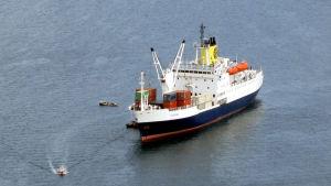 Postbåten RMS St Helena.