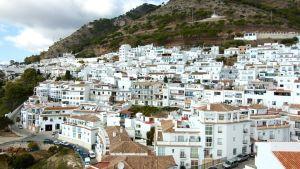 Mijaksen valkoinen kylä Espanjassa
