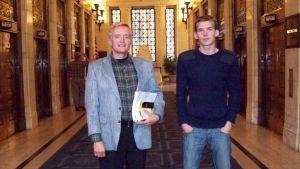 John de Nugent och Esa Henrik Holappa.