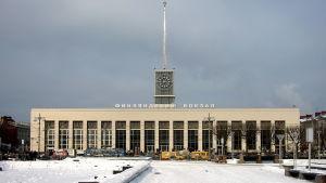 Finlandsstationen i St. Petersburg.