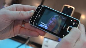 Mobil-TV på en Nokia-telefon