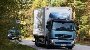 Volvo lastbil utanför Göteborg