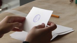Röstsedel i EU-valet 2009