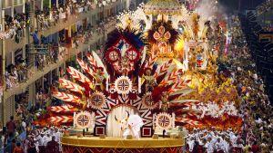 Sambakarneval i Rio.