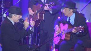Leonard Cohen på scen i Helsingfors 10.08.10