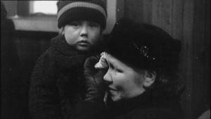 Krigsbarn skickades till Sverige under kriget