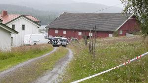 Anders Behring Breiviks hus i Åsta