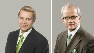 Antti kaikkonen och Jukka Vihriälä