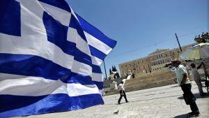 Syntagmaplatsen vid Greklands parlament