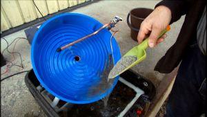 Vaskningsapparat för lantanidurskiljning