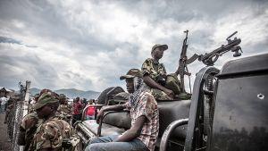M23-rebbelr i Goma, Kongo