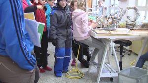 Ergonomiska stolar i Salpar skola