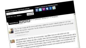 Chatt om Yle Österbotten 7.2.2013.
