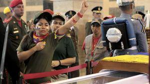 Chávez kista i militärakademin