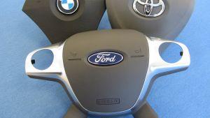 Skyddsskal till bilars krockkuddar misstänks vara produktförfalskningar
