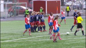 Åland United gick inte att stoppa i Karleby.