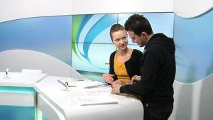 Nyheter på ryska med Katja Liukkonen och Levan Tvaltvadzen